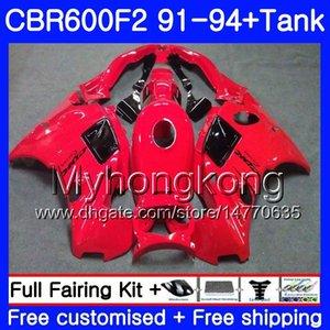 HONDA CBR 600F2 FS CBR600RR CBR600 F2 91 92 93 94 1MY.7 CBR600FS Parlak kırmızı CBR 600 F2 CBR600F2 1991 1992 1993 1994 Fairing kit