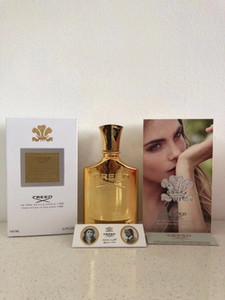 جديد العقيدة عطر الذهبي ميليزيم بيريال العطر 100 مل الرجال النساء زجاجة الذهب مع عطر رذاذ عطر طويل الأمد.