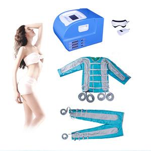 2019 Presoterapia Máquina de drenaje linfático Sauna desintoxicación corporal Máquina de presoterapia lelectric presoterapia manta corporal desintoxicación corporal aligeramiento