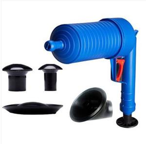 2019 Livraison gratuite en gros haute pression Air Drain Blaster Cleaner Toilets Drain Cleaner Avec 4 adaptateurs