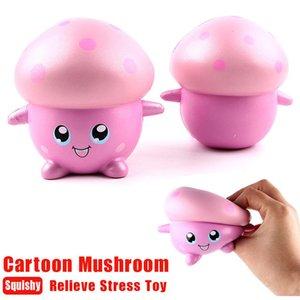 Squishy Q Cartoon Mushroom parfumée crème lente hausse Squeeze Decompression jouets pour enfants adultes soulage le stress anxiété 1 PC