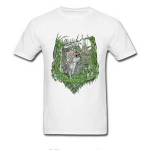 Principessa Mononoke New Mask T Shirt Zelda Game T-Shirt Unique Men Abbigliamento estivo Cotone nero Maglietta Anime Top Tees