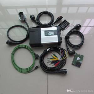 mb ferramenta de verificação de diagnóstico automotivo sd star conectar c5 com HDD de 320GB para MB mercedes ferramentas