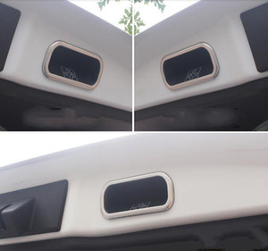 De haute qualité en acier inoxydable cadre de poignée de porte de coffre arrière arrière voiture, couverture décoration, autocollant bol de protection pour TOYOTA CHR CHR 2016