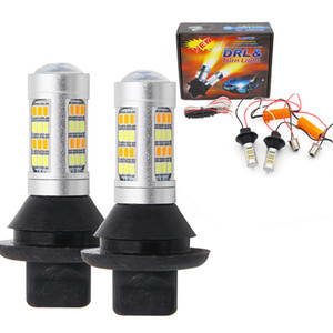 ba15s BAU15S 1156 p21w s25 42led T20 W21W WY21W 7440 3156 licht Tagfahrlicht Blinker Dual Mode DRL LED Außenleuchten
