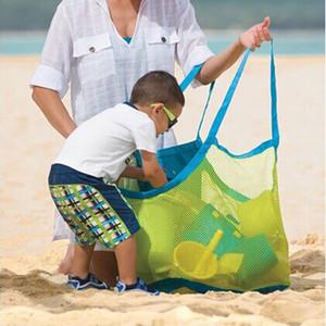 Новые Квалифицированные Sand Away Mesh Пляжная Сумка Коробка Портативные Игрушки Для переноски Пляжный Мяч Большой Размер Сумка Леверт Челнока