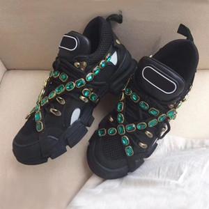 Nueva zapatilla de deporte de diseño Zapatilla Flashtrek con mujer extraíble entrenador de hombres Zapatos de escalada de montaña Botas de senderismo para hombre