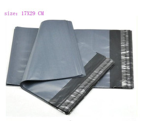 High Quality 17x29cm Poly Self-seal Self Adhesive Express Shipping Bags Courier Mailing Plastic Bag Envelope Courier Post Postal Mailer Bag