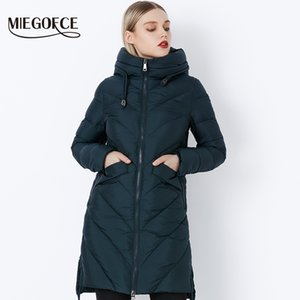 2018 MIEGOFCE Simple Winter Collection Veste De Mode Femmes Parkas Bio-Down Chaud Épaississement Coton Rembourré Femme Veste Manteau