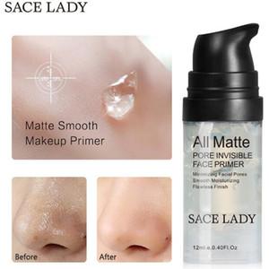뜨거운 판매 SACE LADY 모공 보이지 않는 얼굴 프라이머 매트 파운데이션 프라이머 최소화 프라이머 오일 컨트롤 페이스 메이크업 12 mL 중