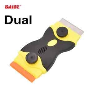 Metal Blade Plastik Bıçak Rabbler İkili sonu Kombinasyon Screen İle Yeni Telefon Ekranı Onarım Aracı 50pcs Tutkal Bıçak Kazıyıcı kaldır