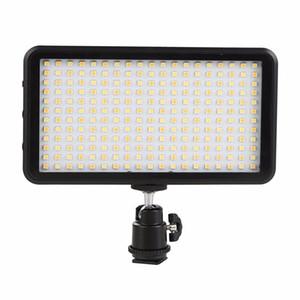 venta al por mayor LED luz 228 LED Panel de luz de vídeo para la cámara videocámara DV 3200-6000K caso negro kit caliente maquiagem