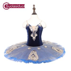 Childre Blue Professional Ballet 투투 YAGP Performance Dancewear 어린이 클래식 발레 댄스 경연 대회 성인 발레 스커트