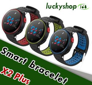 Microwear X2 Plus Bracelet Intelligent Bracelet Moniteur de Fréquence Cardiaque Podomètre Sommeil Sommeil Smart Band FitnessTracker pour Android IOS iPhone 1pcs
