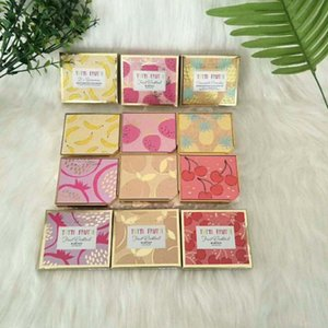 New Arrival Tutti Frutti 칵테일 블러쉬 듀오 페이스 블러쉬 화장품 6 색 이용 가능 상자에 새로운 드롭