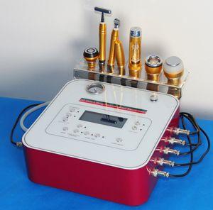 8 handpieces Диаманта машина Dermabrasion двухполярный подъем cryo rf отсутствие машины mesotherapy иглы
