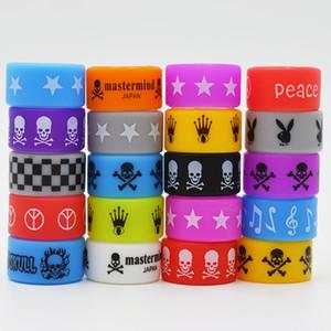 E Cigarette Accessories Silicone Rubber Band Vape Beauty Ring Bandas para Mods Decorativos y Protección Silicon Vape Anillos Mod 22 * 12 * 2mm