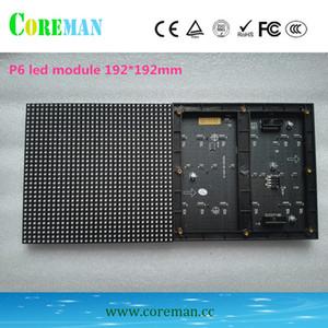 modulo led p6 192x192 modulo display a led per interni 32x32 rgb p6 schermo esterno schermo a parete p1.2p2video