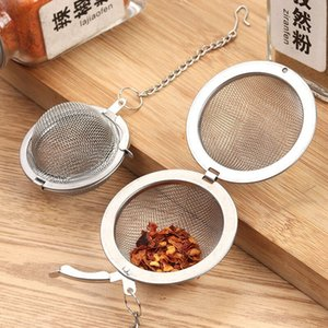 304/201 Paslanmaz Çelik Çay Demlik 4.5 cm 5.5 7 cm 9 cm Çay Pot Demlik Süzgeç Topu Baharat Mutfak Pişirme Çorba Demleyiciler Aracı 100 ADET Ücretsiz