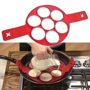 Hot Silicone Pancake Maker Egg Ring Maker antiaderente facile uovo fantastico frittata muffa utensili da cucina