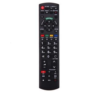 1pc nouvelle télécommande en plastique de remplacement pour téléviseur LCD / LED / HDTV Panasonic N2QAYB000487 EUR-7628030 EUR-7651030A Télécommande