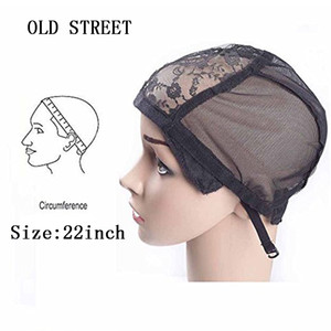 New Quality Stretch Elastic Mesh Lace Wig Caps For Making Wigs Adjustable 1 Pcs Lot Wig Making Caps Lace Hair Nets
