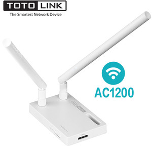 TOTOLINK A2000UA AC1200 двухдиапазонный беспроводной WiFi USB-адаптер с 2*5dBi внешней антенной, высоко совместимая сетевая карта Wi - Fi