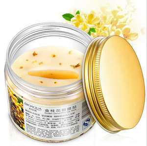BIAQUA Gold Osmanthus Eye Mask 80 Pcs / Bottle Eye Care Collagen gel سليب باتشي مزيل الهالات السوداء