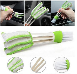 Auto Diy New Plastic Car Air Conditioning Vent Blinds Spazzola di pulizia per accessori di serie