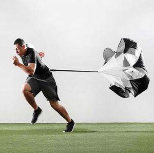 Resistance Umbrella Power Fitness Resistance Running Hinten Zunehmende Luft Lauf Medaille Sport Outdoor Game Outdoor-Spielzeug 145 * 145cm