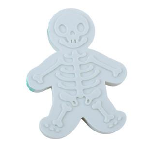 해골 두개골 모양의 진저 브레드 금형 휴일 베이킹 비스킷 쿠키 커터 Sugarcraft 장식 주방 도구 - 플라스틱 DIY 베이킹 금형