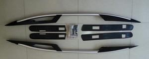 Barra de riel de techo lateral de aluminio de estilo de fábrica OEM de alta calidad para Honda CRV CR-V 2007-2011 negro y plateado