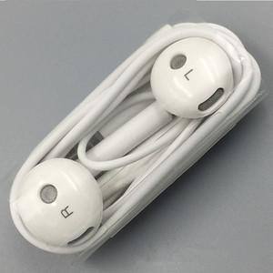 Оригинальный белый Huawei Am115 наушники с микрофоном стерео наушники Наушники для xiaomi huawei Android смартфон, для MP3 MP4 для ПК 100 шт.