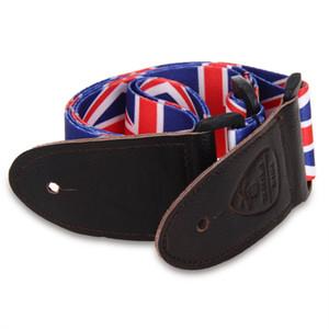 Strap Belt Strap Bandeira do Reino Unido para Guitarra Elétrica Baixo Acústico