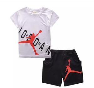 Mode été bébé garçons vêtements costumes enfants belle t-shirt + pantalon 2 pcs infantile costumes occasionnels enfants ensembles