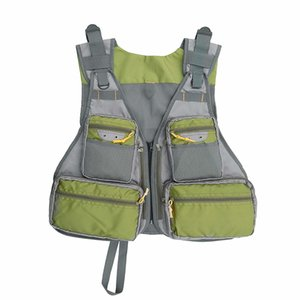 Fly Mesh Fishing Vest Pockets Jacket Fishing Hunting Waistcoat Outdoor Quick-Dry Net Vest Travel Photography Vest with Adjustable Size
