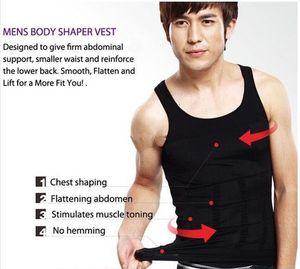 Chaleco del abdomen del chaleco de los hombres que forma la ropa interior apretada que adelgaza la cintura que quema la carrocería Shapers Burning Shaperwear Cintura Sweat Corset