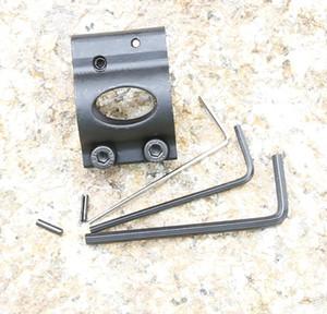 Ajustable Çelik Düşük Profil Mikro Blok av silah aksesuarları için pin ile 0.75 Inç çelik Gaz Bloğu