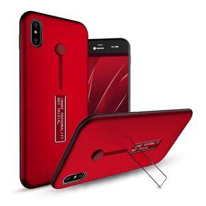 Yaratıcı 2 in 1 ADET + TPU Gizli Halka Tutucu Case Arka Braketi Ile Kapak Standı iphone x 8 7 6 6 s Artı