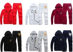 Sıcak satış yeni moda lüks tasarımcı moda klasik adam pamuk eşofman kış tasarımcı kırmızı beyaz ve siyah ceket eşofman