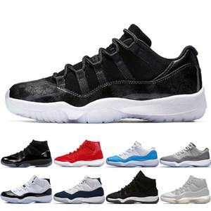 11 High Gym Rouge Midnight Navy 11S Space Jam unisexe Chaussures de basket-ball Top qualité Athletic Sport Sneakers Cérémonie de clôture US 5.5-13 Eur 36-47