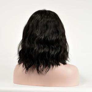 شعر مستعار AOSI 24 بوصة الطبيعة موجة الاصطناعية غير الدانتيل الشعر المستعار الأمامي اللينة اللاصقة الألياف الحرارة المقاومة