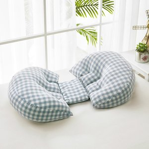Comfortable Pregnancy Pillow Breastfeeding Nursing Pillow Cotton Detachable Side Sleeper Maternity Bedding 60x12x36cm