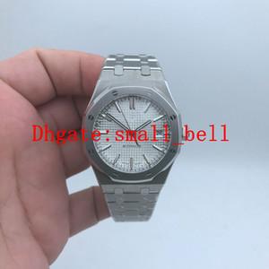새로운 공장 신제품 품질 15400ST 여성 316L 스테인레스 스틸 시계 37mm 수입 자동 기계 숙녀 하드 커버 시계