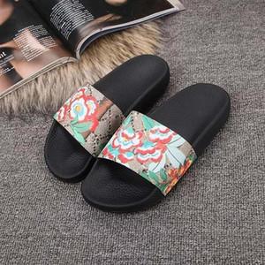 Blumenpantoffeln Frauen und Männer Heiße Art und Weise beschuht echtes Leder-Sandelholz-Frauen beschuht Riemchen-Schuhe mit Firmenzeichenkastengröße 35-46