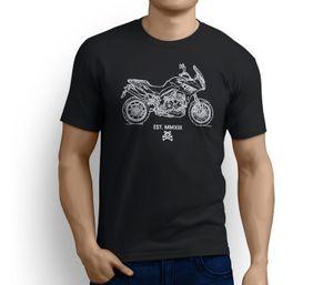 Road Hogs Triumph Tiger Sport ha ispirato la t-shirt Motorcycle Art