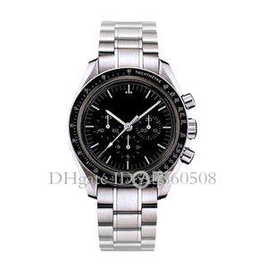 Sport reloj de los hombres de alta calidad de VK cuarzo Maestro Relojes para los hombres de negocios de acero inoxidable Reloj de la cronografía, Montre de luxe, orologio di Lusso