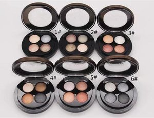 New makeup Brand Jade Jagge Eye shadow Palette 4colors Matte Shimmer 6style for choose Eyshadow palette High quality DHL SHIPPING