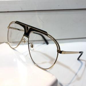 Z1030 Óculos de Luxo Retro Homens Mulheres Designer de Óculos Do Vintage Brilhante Ouro Estilo Verão Logotipo Do Laser Banhado A Ouro Com Caso