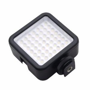 Freeshipping Long Life 5.5W 800lm 6000K tragbaren Mini-49 LED Video-Licht-Lampe Fotografie-Foto-Beleuchtung für Kamera-Fotografie